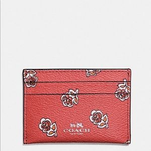 🌼JUST IN:  NWT Coach Sienna Rose Card Case
